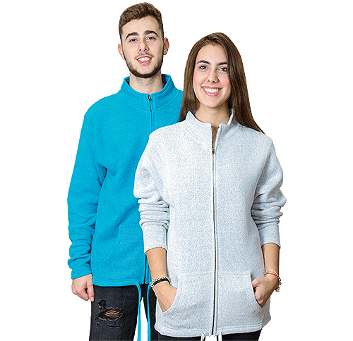 4040<br>Nantucket Unisex Full-Zipper Hoodie