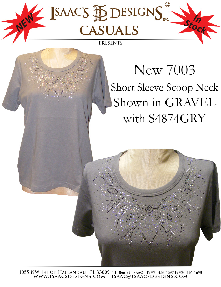 7003<br>In Gravel featuring S4874-GRY