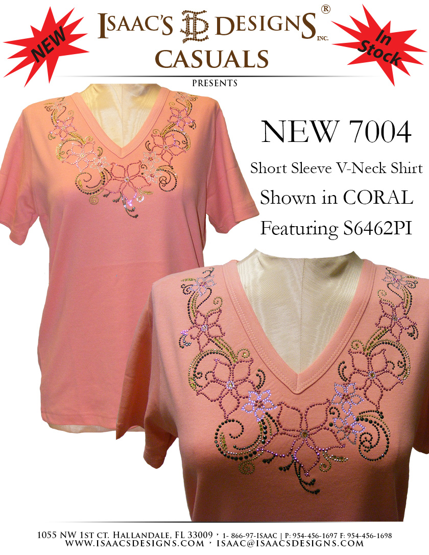 7004<br>in Coral featuring S6462-PI