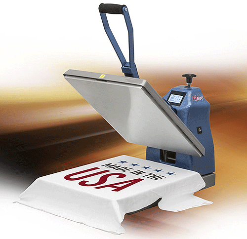 HIX HT-600 Clamshell Press - Take your designs to the edge!