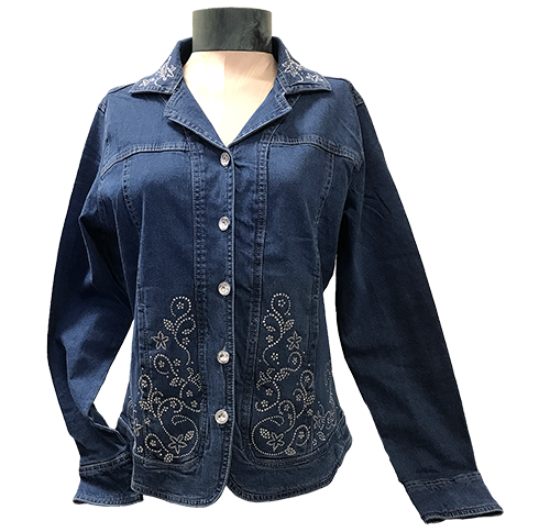 ST600 Fancy Denim Jacket