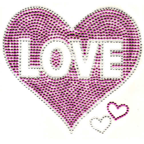 S100015-FUS-LOVE INSIDE HEART FUSCHIA, KIDS, HEARTS