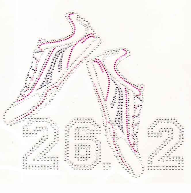 S100203- PINK & PURPLE SNEAKERS 26.2