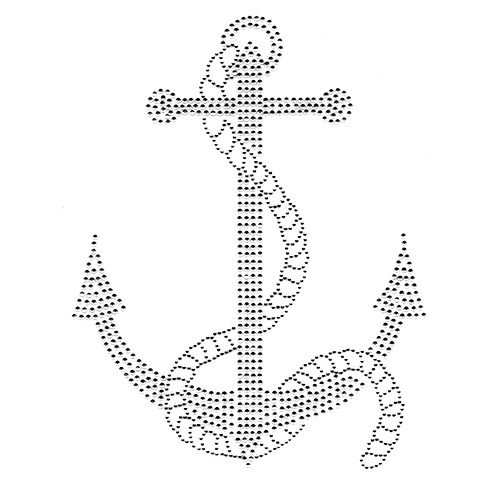 S100238CLR - Anchor w/Rope
