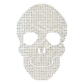 S100557  - LARGE CLEAR SKULL