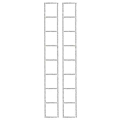S100933-BLK  -  LADDER SLEEVE DECORATION(7-26)