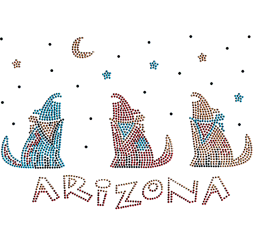 S101143 - Arizona with Howling Wolves