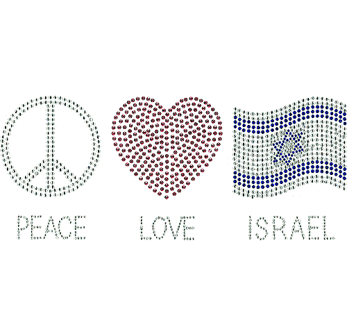 S101162-ISR - Peace Love Israel