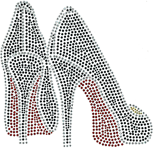 S101260 - Red-sole High-heel Shoes