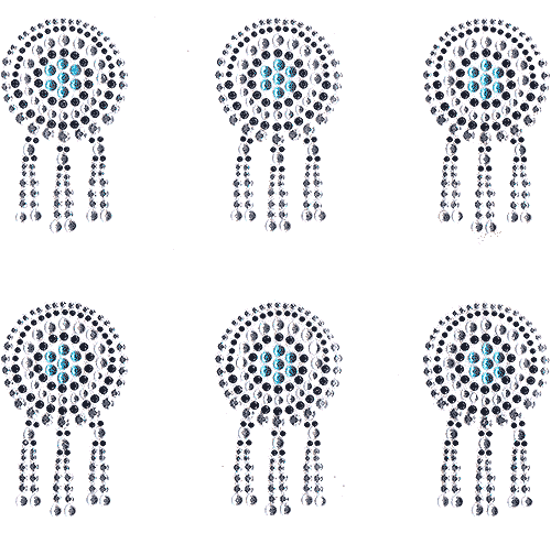 S101423<br>Native American Jewel Decor Sheet