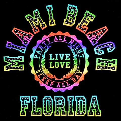 S101446-MB  Miami Beach, FL - Live Love