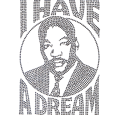 "S102153-BLK - M.L.K. ""I Have A Dream"""