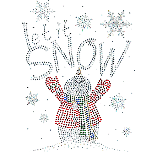S102335<br>&quot;Let It Snow&quot; Snowman