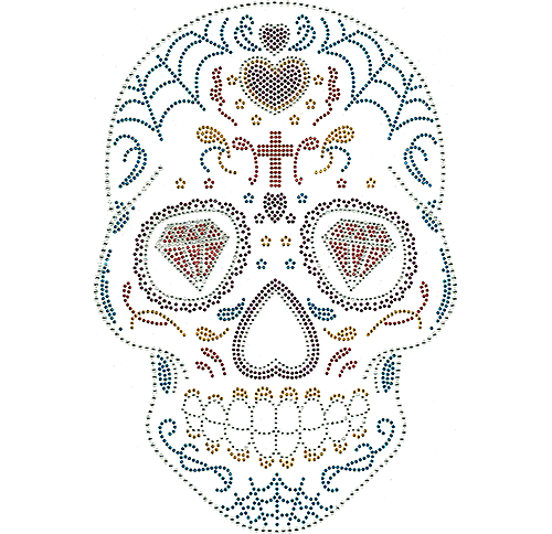 S110113 - Diamond-Eyed Skull