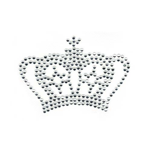 S1734 - Small crown, clear crystal