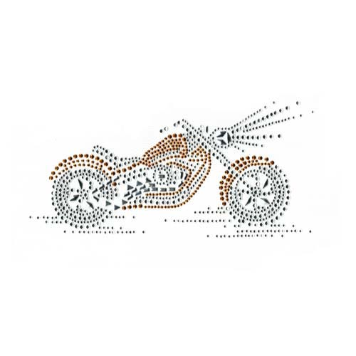 S1834G - GOLD MOTORCYCLE
