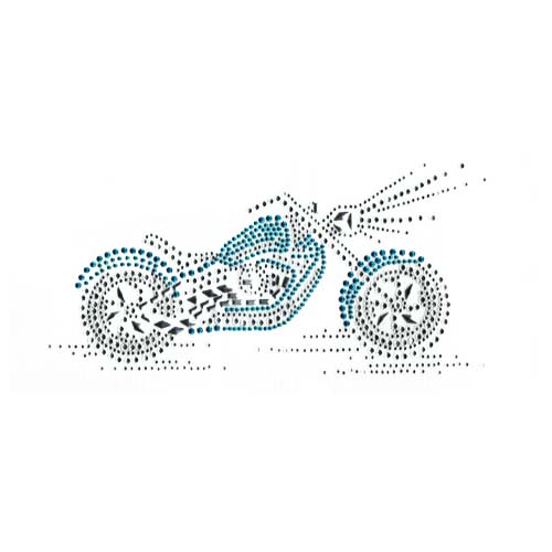 S1834SKY  -TURQUOIS (SKY) E MOTORCYCLE