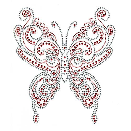 S1882-RED - LARGE RED BUTTERFLY, BUTTERFLIES