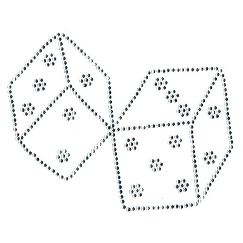 S2444 - 2 dice, large (casino)