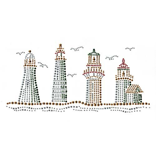 S2819 - FOUR LIGHTHOUSES