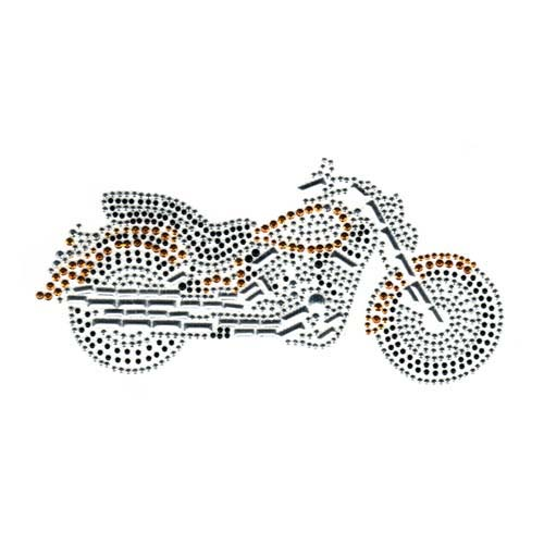 S3080 - GOLD MOTORCYCLE