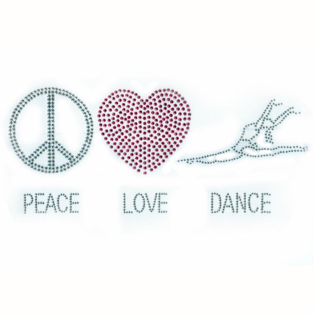 S3503-Peace, Love & Dance