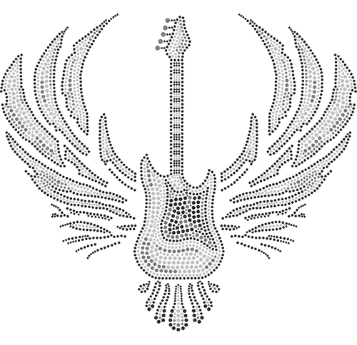 S3519-LU - Winged Guitar