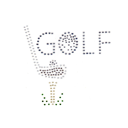 S3836-GOLF WITH GOLF CLUB, BALL & TEE