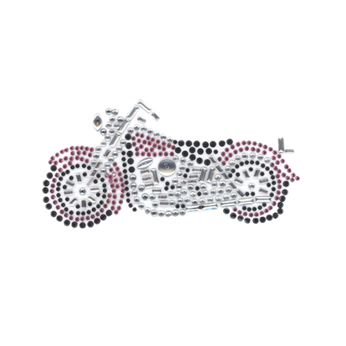 S4131PINK- SMALL MOTORCYCLE PINK, MOTORCYCLES, BIKES