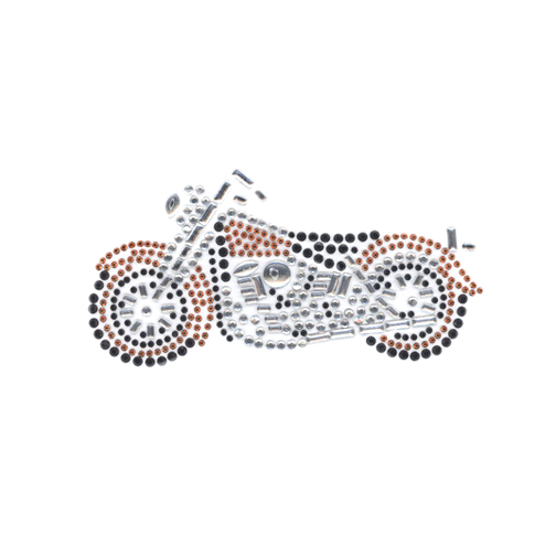 S4131ORG- SMALL MOTORCYCLE ORANGE, MOTORCYCLES, BIKES