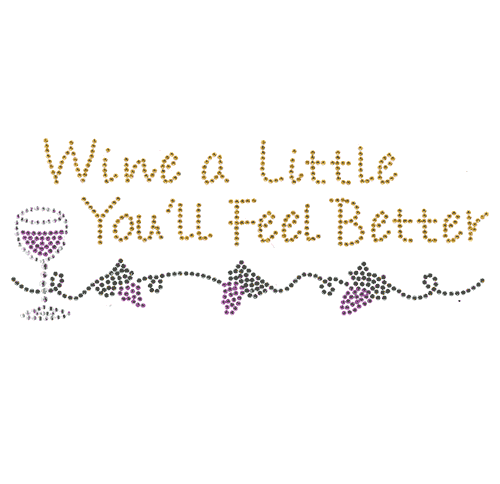 S4297<br>Wine a Little, You'll Feel Better