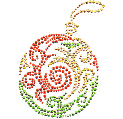 S4608MA-RED<br>Small Christmas Ornament