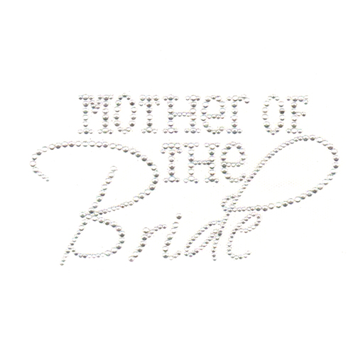 S4634-MOTHER OF THE BRIDE CRYSTAL STONE