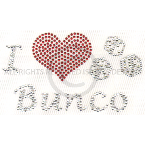 S5069- I LOVE BUNCO, GAMES, DICE