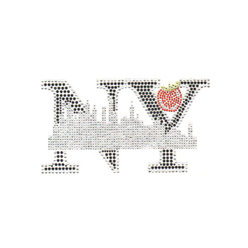 S5213- NEW YORK CITY W/ APPLE, PHRASE, PHRASES, SYMBOL, SYMBOLS,