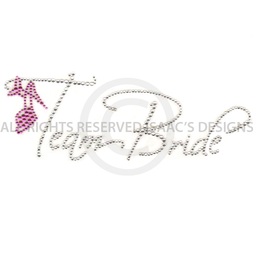 S6086- TEAM BRIDE W/ STILETTO, BRIDAL, WEDDING, WEDDINGS
