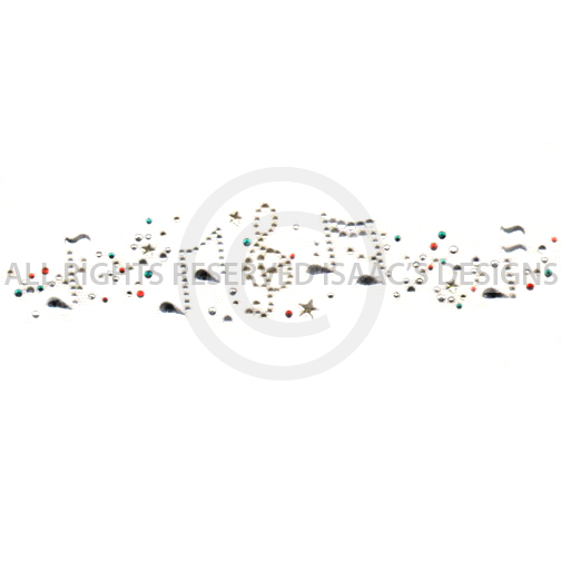 S6359- STRIP MUSIC NOTES, CHRISTMAS, HOLIDAY, HOLIDAYS