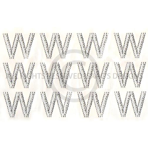 s6514 w block alphabet letter w letters