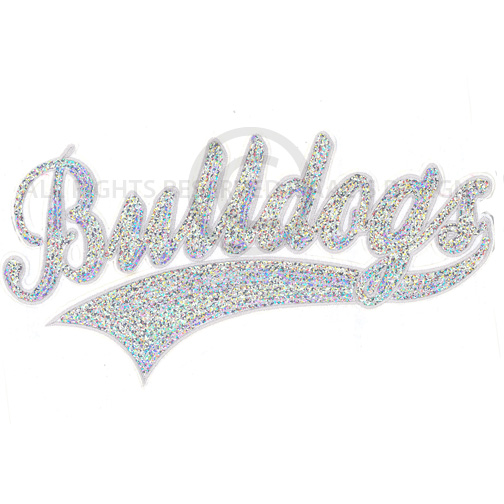 S8741-BULLDOGS,SEQUINS, MASCOT NAMES, SPORTS