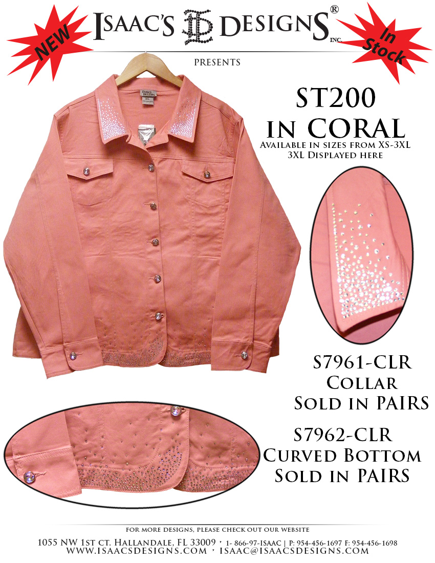 ST200 in CORAL - NEW!
