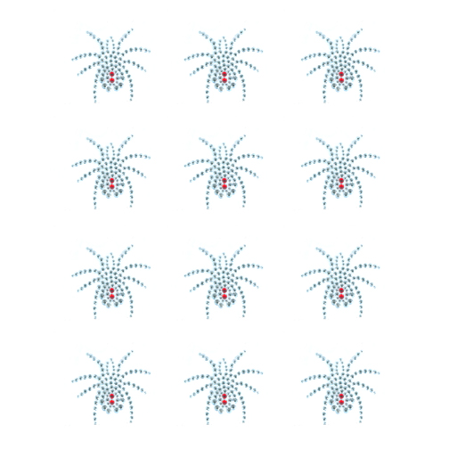 S9084- SPIDER W/ RED BACK, SPIDERS, INSECTS, SOLD BY SHEET 12PCS