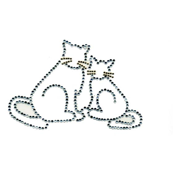 S1449 - 2 CATS OUTLINE