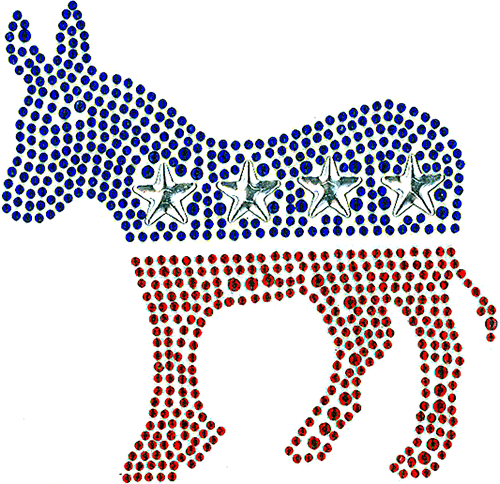 S101096MD - Democrat Donkey (Medium)