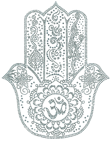 S102162 Hindu Decorative Hamsa